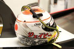 Helmet of Jenson Button, Team Mugen
