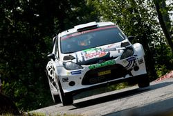 Paolo Porro, Paolo Cargnelutti, Ford Fiesta WRC, Bluthunder Racing Team