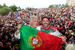Tiago Monteiro, Honda Racing Team JAS, Honda Civic WTCC and Rui Santos