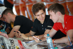 Felipe Drugovich, Van Amersfoort Racing, Marcus Armstrong, Prema Powerteam
