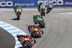 Stefan Bradl, Honda World Superbike Team, Jake Gagne, Honda World Superbike Team, Randy Krummacher