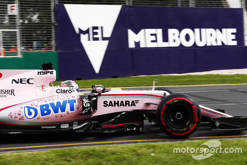 Force India в новых цветах на Гран При Австралии