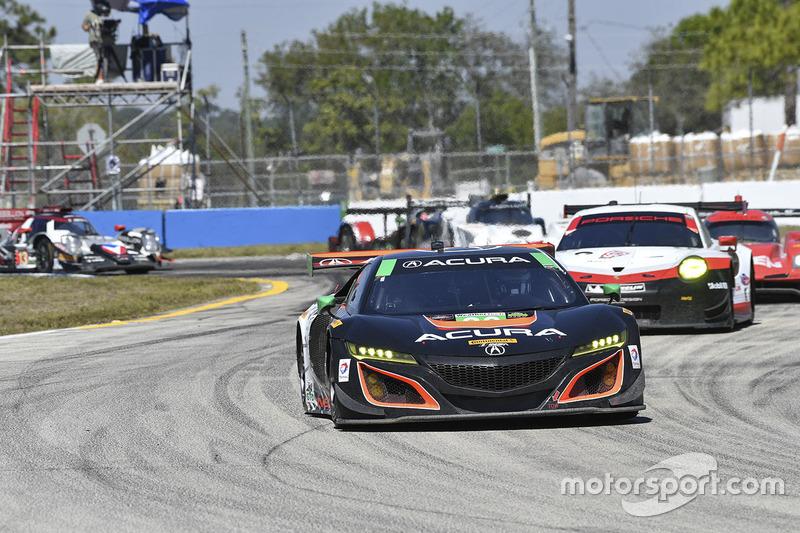 #86 Michael Shank Racing Acura NSX: Oswaldo Negri Jr., Jeff Segal, Tom Dyer