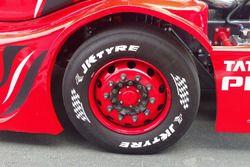 1000 bhp Tata T1 Prima, JK tyre detail