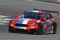 #58 VDS Racing Adventures, MARC Focus V8: Raphaël van der Straten, Pierre Dupont, José Close