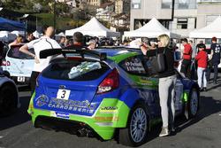 Pascal Perroud, Romain Blondeau-Toiny, Ford Fiesta R5, Verifiche tecniche