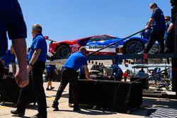 Preparazione del team Ford Performance Chip Ganassi Racing