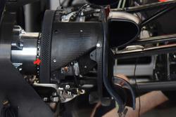 Détails des freins avant de la Red Bull Racing RB13