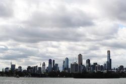 Vue de Melbourne depuis l'Albert Park