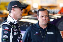 Kevin Harvick, Stewart-Haas Racing Ford with Greg Zipadelli