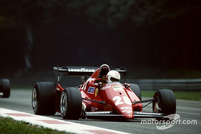 1983: Ferrari 126C3 (две победы, титул в КК)