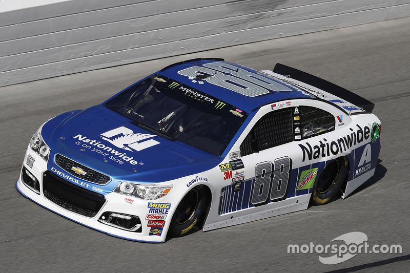 Unfall: Dale Earnhardt Jr., Hendrick Motorsports, Chevrolet