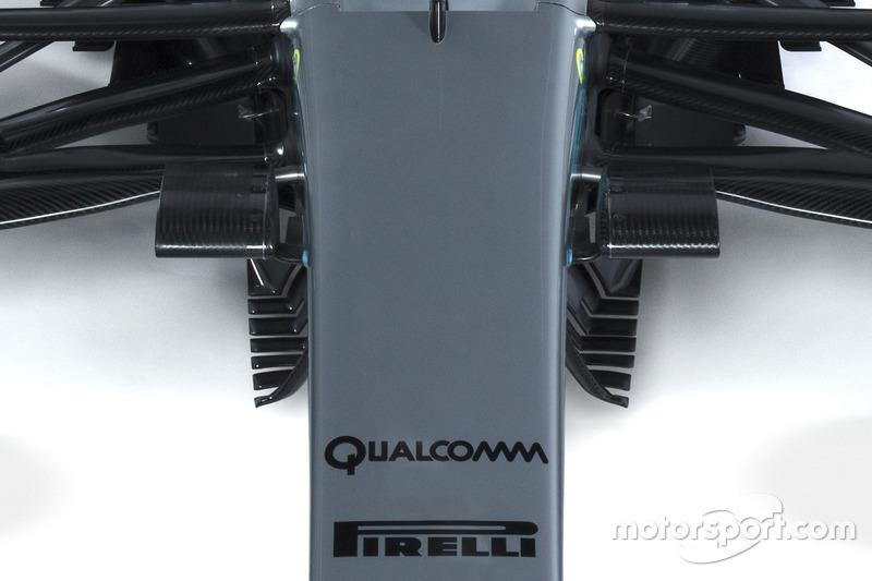 Détails de la Mercedes AMG F1 W08