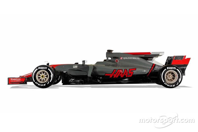 2017: Haas-Ferrari VF-17
