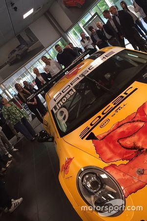 Porsche 911 GT3 Cup di Francesca Linossi