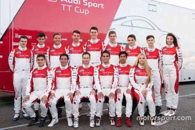 Тесты Audi TT Cup