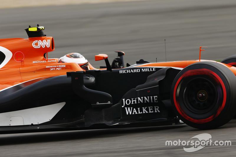 НФ. Стоффель Вандорн, McLaren-Honda