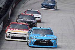 Matt Tifft, Joe Gibbs Racing Toyota, Michael Annett, JR Motorsports Chevrolet