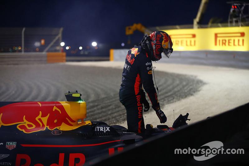 Abandon : Max Verstappen (Red Bull)
