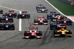Start: Charles Leclerc, PREMA Racing leads