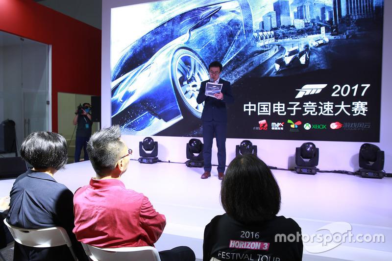 2017 China E-Racing Championship Presentation