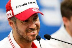 Conferenza stampa: Tiago Monteiro, Honda Racing Team JAS, Honda Civic WTCC
