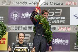 Race winner : António Felix da Costa, Carlin Dallara Volkswagen