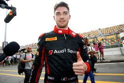 Pole position for Edoardo Mortara, Audi Sport Team WRT Audi R8 LMS