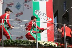 Marcus Armstrong, Prema Powerteam festeggia sul podio