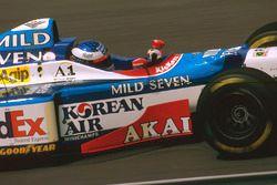 Jean Alesi, Benetton B197 Renault