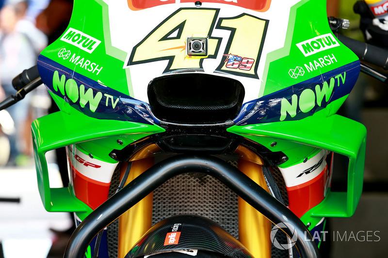 Обтекатель мотоцикла Алеша Эспаргаро, Aprilia Racing Team Gresini