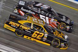 Brendan Gaughan, Richard Childress Racing Chevrolet und Jeremy Clements, Jeremy Clements Racing Chev