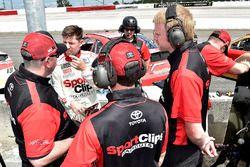 Denny Hamlin, Joe Gibbs Racing Toyota and crew