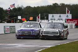 Austin Cindric, Brad Keselowski Racing Ford and Noah Gragson, Kyle Busch Motorsports Toyota