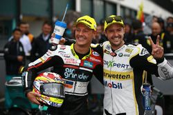 1. Dominique Aegerter, Kiefer Racing; 2. Thomas Luthi, CarXpert Interwetten