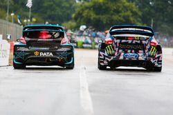 Janis Baumanis, STARD, Ford Fiesta, Andreas Bakkerud, Hoonigan Racing Division, Ford Focus RSRX