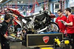 L'usine Ducati