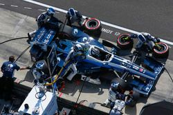 Max Chilton, Chip Ganassi Racing Honda s'arrête au stand