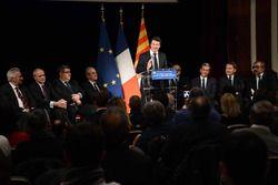 Christian Estrosi, Presidente de la región de Provence-Alpes-Côte d ' Azur habla