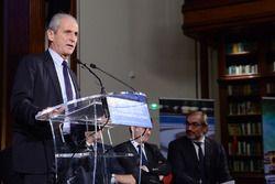 Hubert Falco, mayor of Toulon