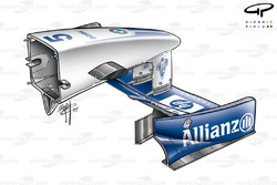 Williams FW24 front wing