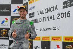 Podium: Andrea Dovizioso, Lamborghini Squadra Corse