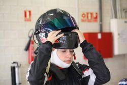 Марта Гарсия на тестах испанской Ф4 в Наварре