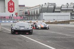 Fabio Mancini, Ferrari 458 GT3, Easy Race; Thomas Biagi, Lamborghini Huracan ST, Antonelli Motorspor