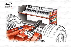 Ferrari F2002 (653) 2002 rear wing