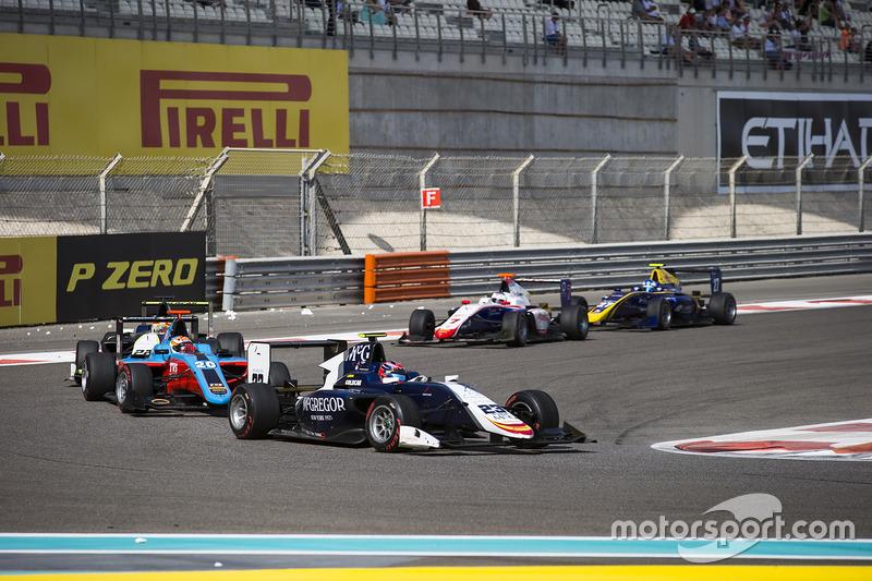 Steijn Schothorst, Campos Racing y Arjun Maini, Jenzer Motorsport