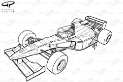 Схема Williams FW17 1995 года