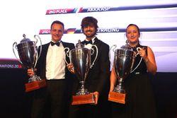 2016 Sprint Cup Pro-AM Cup Teams, Kessel Racing, champion, AKKA ASP, 2nd place, Rinaldi Racing, 3rd