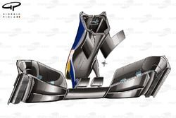 Red Bull RB6 front wing and nose detail