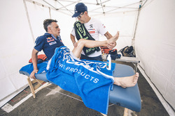 Lucas Cruz, Peugeot Sport with Jean-Philippe Imparato